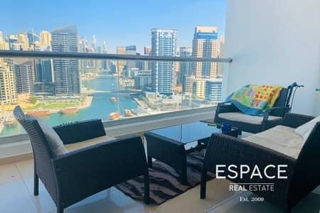 2 Bedroom Apartment for Rent in Dubai Marina, Dubai - Full Marina View|Spacious|Well Maintained