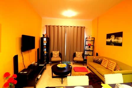 1 Bedroom Flat for Rent in Dubai Silicon Oasis, Dubai - Modern Style | Fully Furnished | 1 Bedroom | With Balcony
