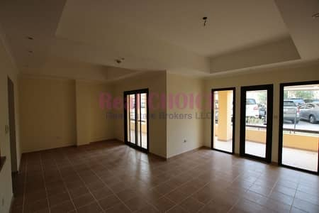 2 Bedroom Apartment for Rent in Mirdif, Dubai - 2BR apartment with huge terrace on ground floor