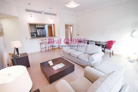 شقة 2 غرفة نوم للايجار في نخلة جميرا، دبي - Spacious Layout|Fully Furnished 2BR + Maid Apt.