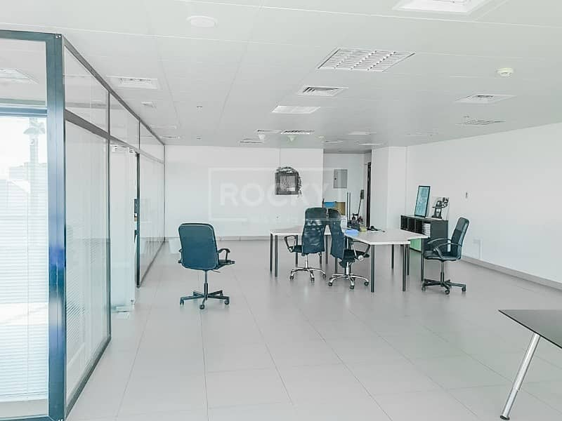 2 Fitted | Glass Partitioned | Office | Silicon Oasis