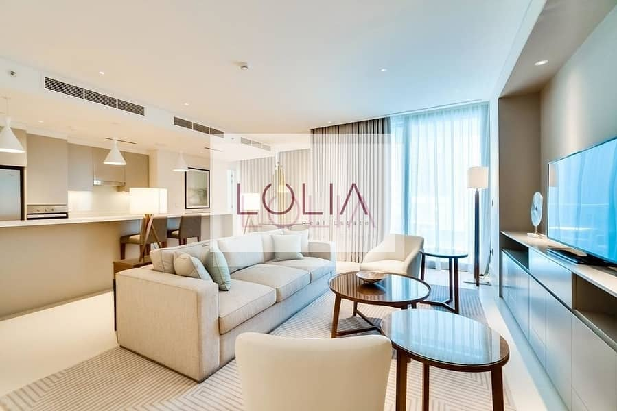 Luxurious 3 Bed + Maids + Full Burj View