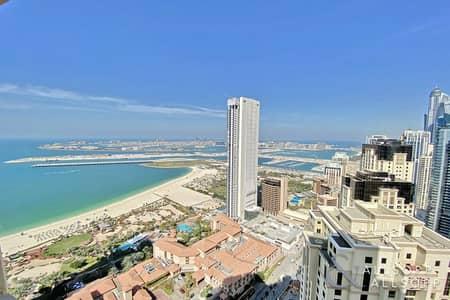 1 Bedroom Flat for Sale in Jumeirah Beach Residence (JBR), Dubai - Full Sea Views   1430 Sq. Ft   1 Bedroom
