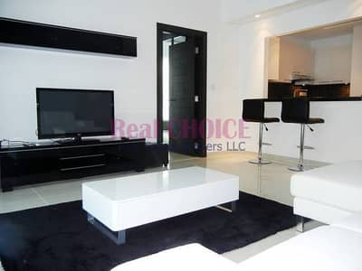 Fully furnished 1BR Apartment in Silverene Tower B at Dubai Marina