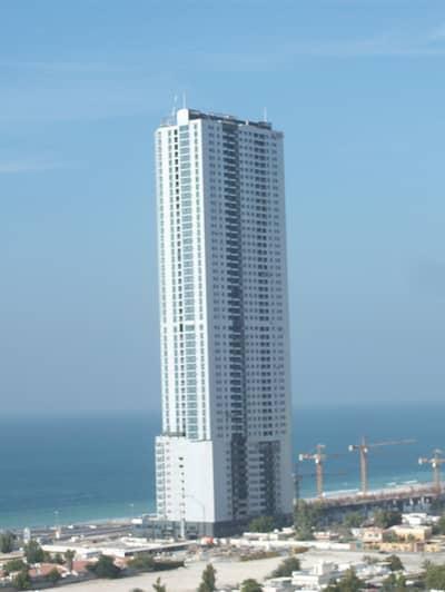 3 Bedroom Apartment for Rent in Corniche Ajman, Ajman - Corniche Tower: Beach View, 3 Bed Hall Parking (AC Bill Free) very big 3400 sqft.