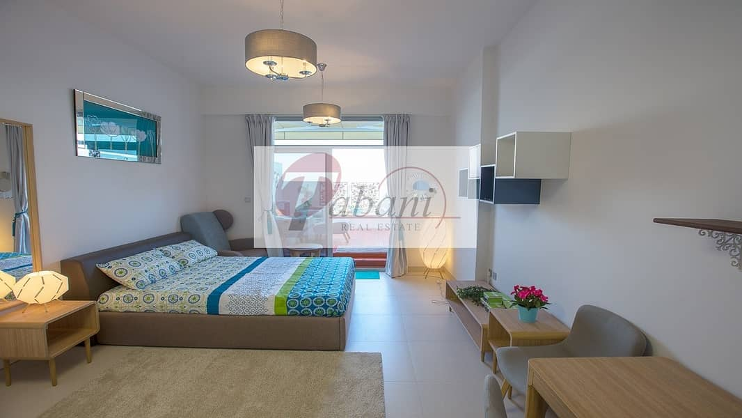 Furnished|Private Terrace Wooden Flooring