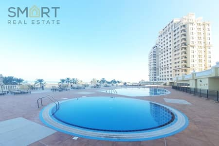 Magnificent 2BR  Apartment| Full Sea View | Access to Pool & Gym