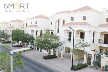 3 Bedroom Townhouse for Sale in Al Hamra Village, Ras Al Khaimah - The best deal in Al hamra. Elegant 3BR+ maids Bayti townhouse is located in Al Hamra Village