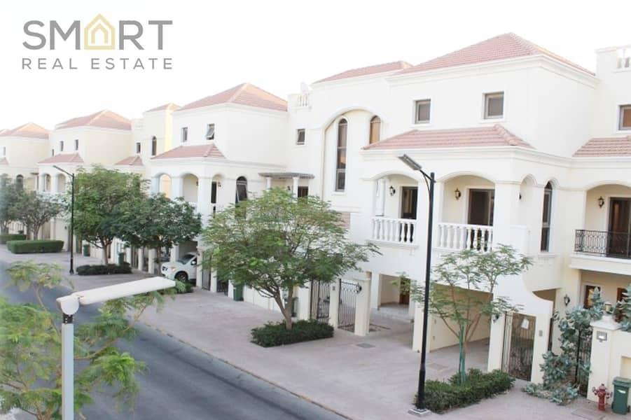 The best deal in Al hamra. Elegant 3BR+ maids Bayti townhouse is located in Al Hamra Village