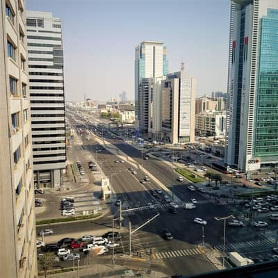 Studio for Rent in Al Salam Street, Abu Dhabi - Furnished Master Bedroom on Salam street on Monthly terms