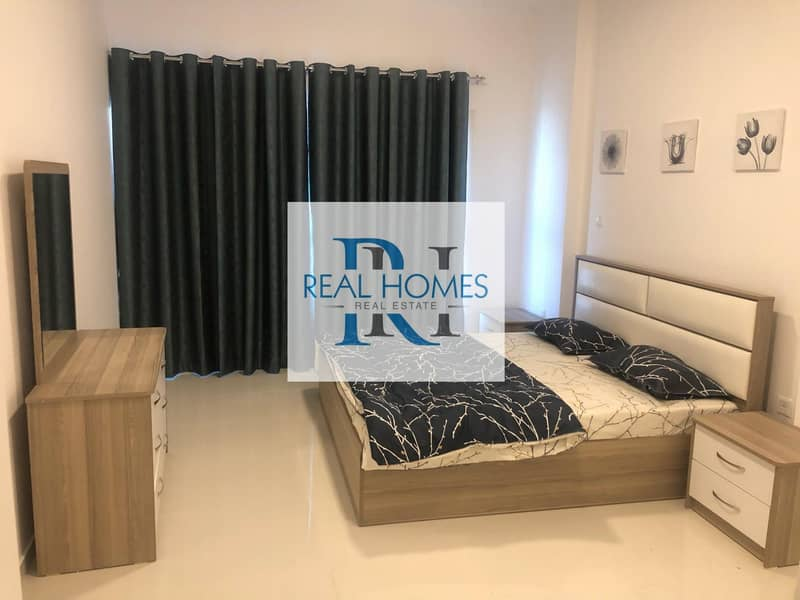 2 1 Bedroom with Laundry! Fully Furnished! DEWA Connected 5500 Per Month