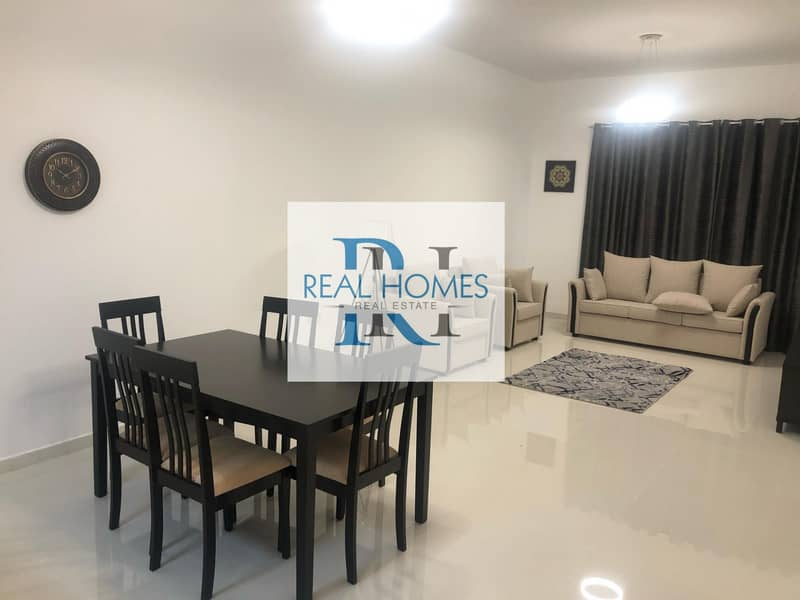 1 Bedroom with Laundry! Fully Furnished! DEWA Connected 5500 Per Month