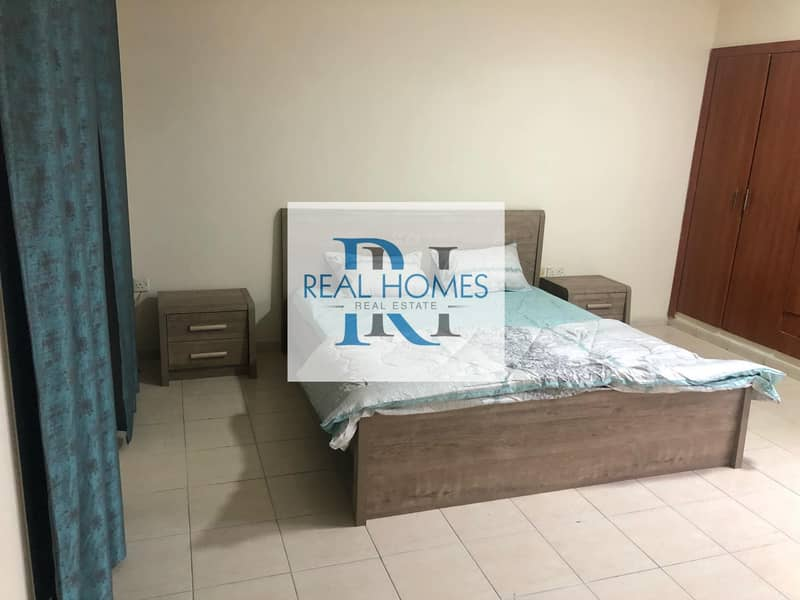 Lovely Furnished Studio! With Balcony! Monthly 2700