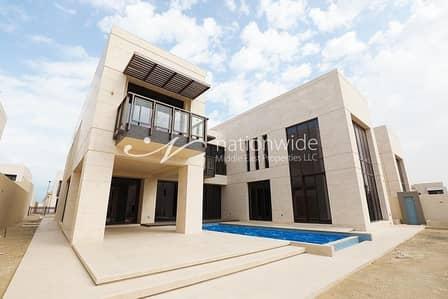 Contemporary 6 BR Villa in Hidd Al Saadiyat