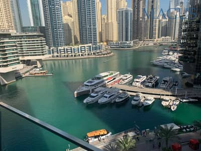 2 Bedroom Apartment for Rent in Dubai Marina, Dubai - Amazing Marina View | 2 BR |  Silverene Tower
