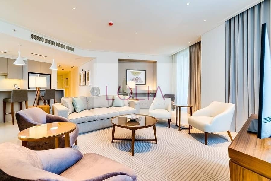 2 Luxurious 3 Bed + Maids + Full Burj View