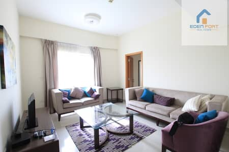 2 Bedroom Apartment for Rent in Downtown Jebel Ali, Dubai - Fully Furnished 2 Bhk Unit | 2 Balconies'