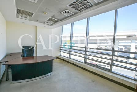 مکتب  للايجار في شارع الشيخ زايد، دبي - BEST COMMERCIAL BUILDING. Sheikh Zayed road facing offices. Fitted and spacious