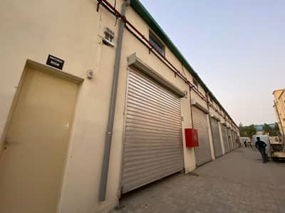 Warehouse for Rent in Ajman Industrial, Ajman - Small warehouse available for Rent in Ajman Industrial 1