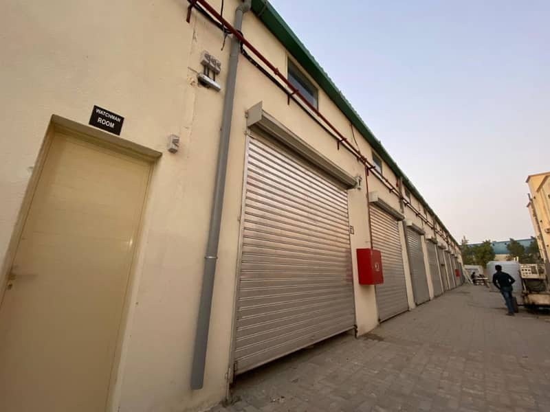 Small warehouse available for Rent in Ajman Industrial 1