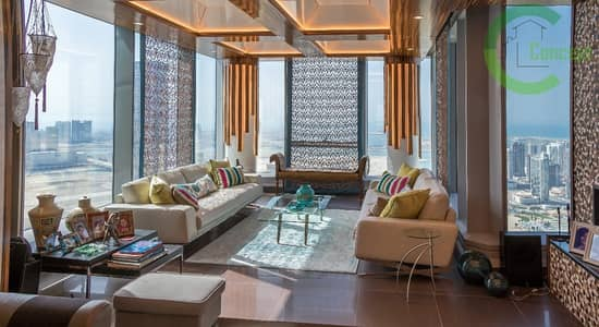 2 Bedroom Apartment for Sale in Al Reem Island, Abu Dhabi - Paradise on earth| Furnished Skypod with sea views.