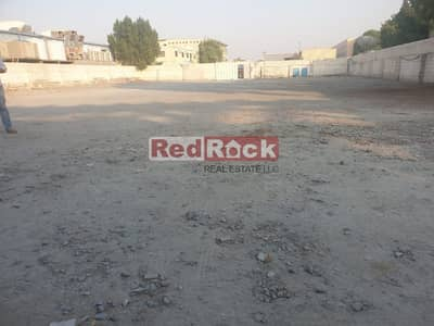 Industrial Land for Rent in Al Quoz, Dubai - Only Aed 12/Sqft for 20000 Sqft Open Land with Shed in Al Quoz