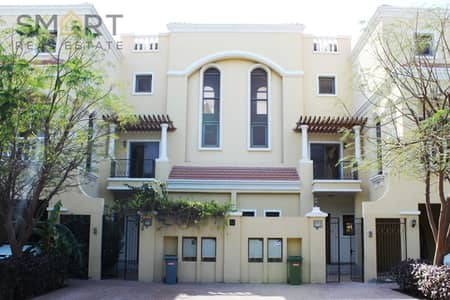 Beautiful golf course and lagoon 4 bedroom  villa is located in Al Hamra Village  and listed for rent.