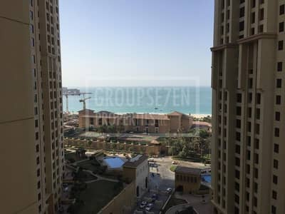 شقة 1 غرفة نوم للبيع في جميرا بيتش ريزيدنس، دبي - Spacious 1 Bed Apartment for Sale in JBR Sea View