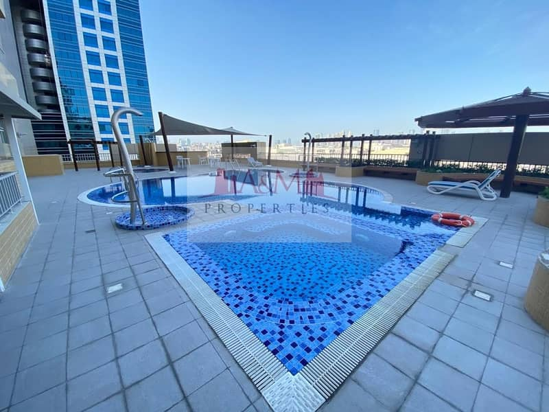13 Excellent Studio in Al Mamoura with Facilities available for 42000 only.!