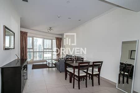 1 Bedroom Flat for Rent in Jumeirah Lake Towers (JLT), Dubai - 1 Bed Apt with Lake View | High Floor level