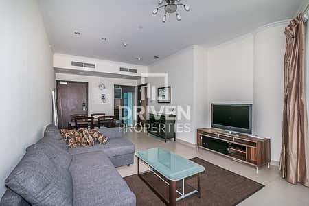 فلیٹ 1 غرفة نوم للايجار في أبراج بحيرات الجميرا، دبي - 1 Bed Apt with Lake View | High Floor level
