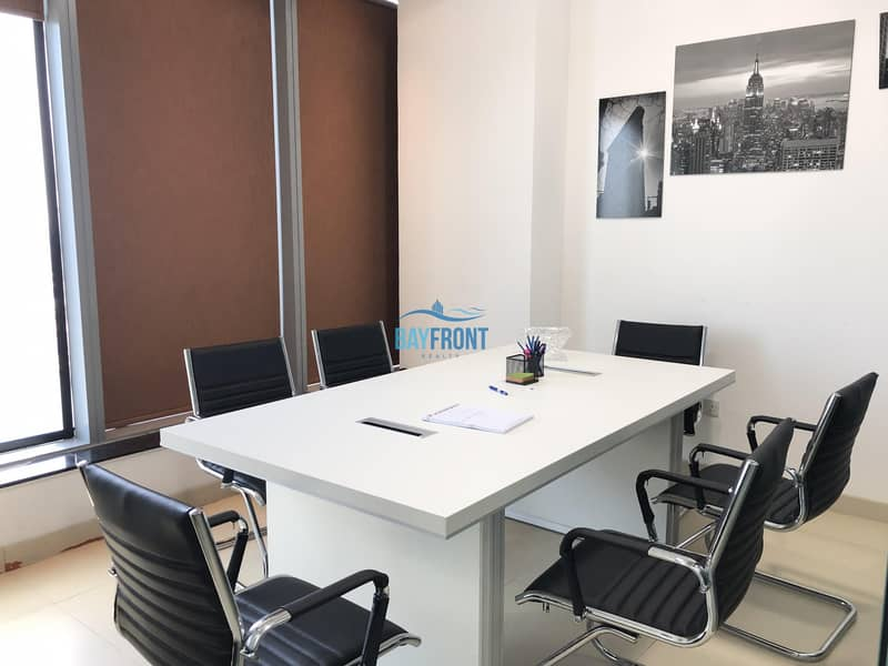 Furnished Rented Office @ Bayswater