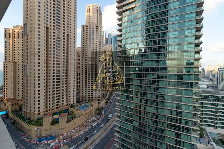 Spacious Beautiful 3BR Apartment for rent in Dubai Marina with Stunning Marina View | Prime Location