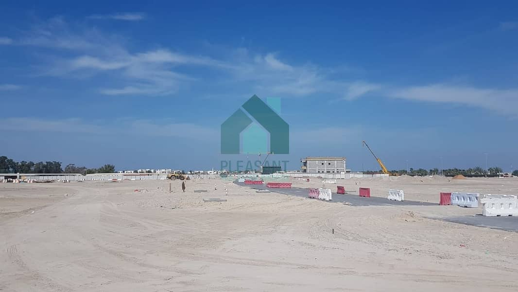 2 Enormous Freehold Plots on Al Mamzar Facing Mousque