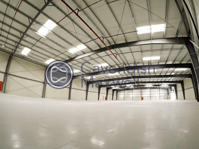 11 Brand New|Stand Alone|Column Less Warehouse- DIP