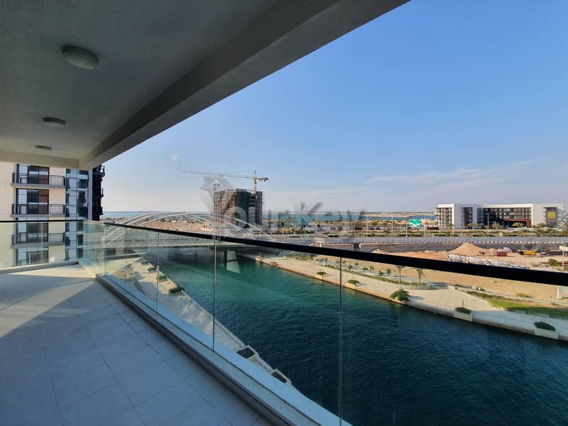 2 Prestigious 2BR +Maids room with Huge Terrace   Canal View