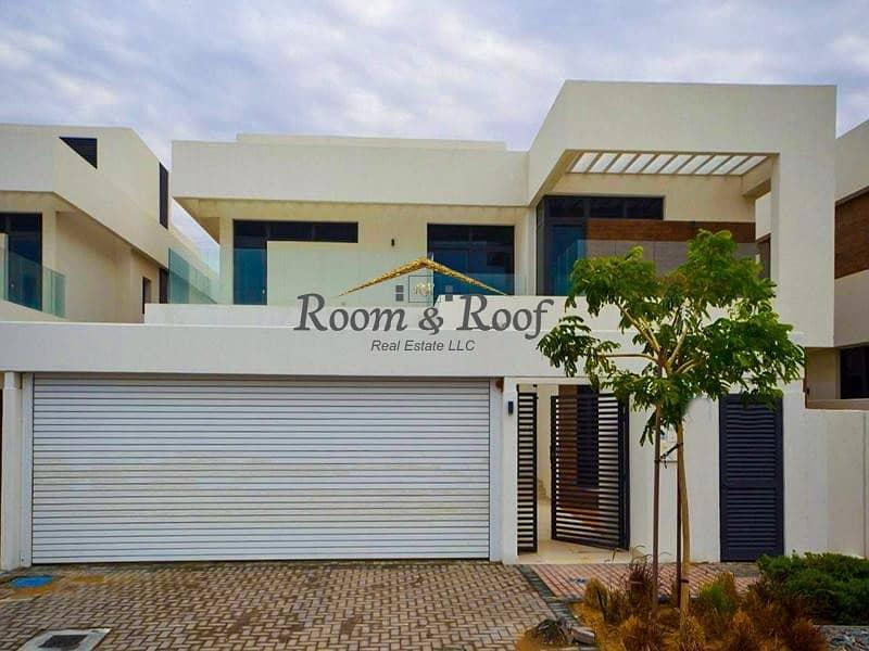2 Single Row Prime Villa facing Park in Yas Island!