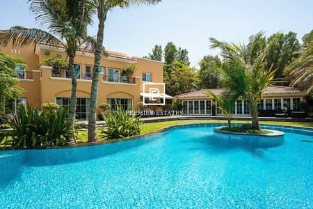 5 Bedroom Villa for Rent in Arabian Ranches, Dubai - 5 Bedroom Upgraded|Golf Course View|Full Vastu