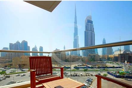 Stunning View |2 Bedrooms Furnished | Burj views