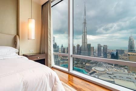 3 Bedroom with Burj Khalifa View | High Floor