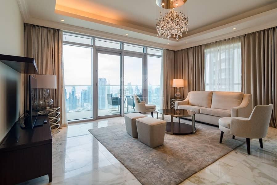 18 3 Bedroom with Burj Khalifa View | High Floor