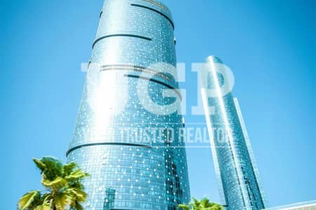 فلیٹ 1 غرفة نوم للبيع في جزيرة الريم، أبوظبي - Luxurious and High Floor 1BR apt w/ Rent Refund