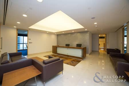 Office for Rent in Jumeirah Lake Towers (JLT), Dubai - Half Floor | Near To Metro | Luxury Fitted