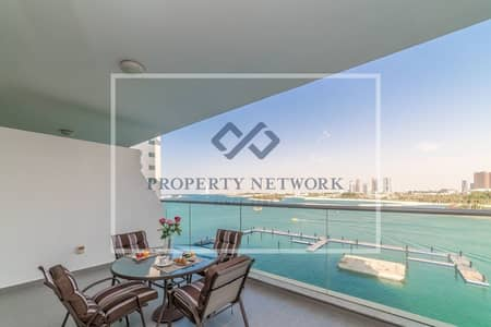 1 Bedroom Flat for Rent in Palm Jumeirah, Dubai - FURNISHED | HIGH FLR | SEA VIEW | BEACH ACCESS