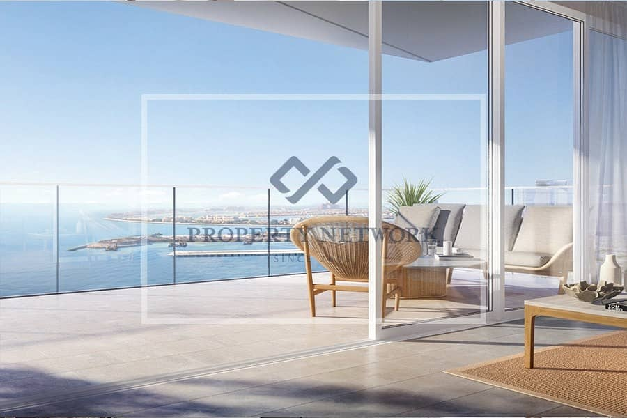 LA VIE JBR I WITH 60/40 PP - 5% DOWN PAYMENT