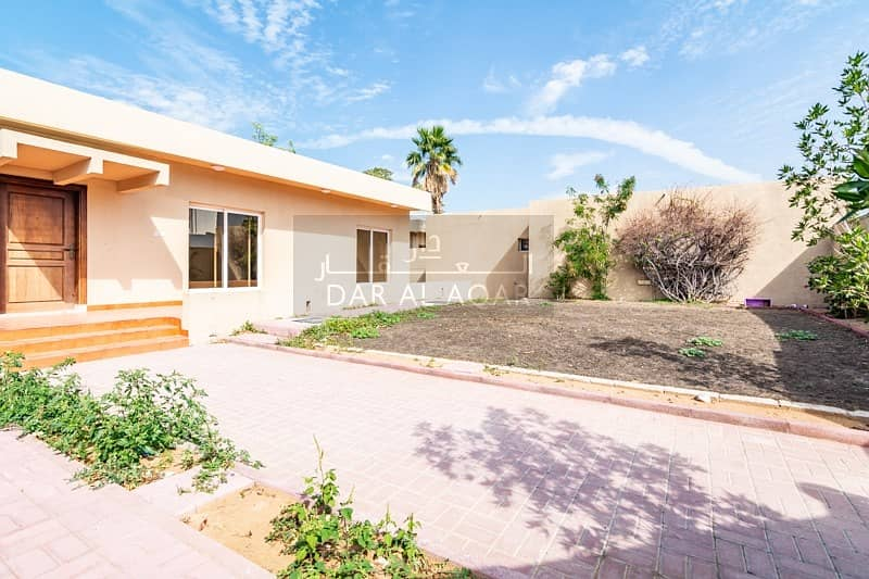 Spacious Garden | 3 BR plus Maids Room | Available