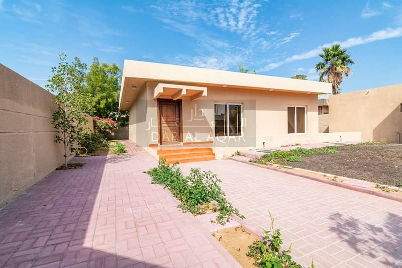 2 Spacious Garden | 3 BR plus Maids Room | Available