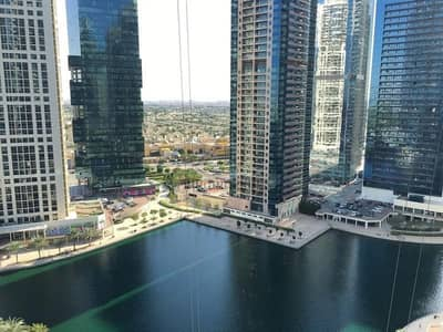 Studio for Rent in Jumeirah Lake Towers (JLT), Dubai - Furnished Studio | Full Lake View With Balcony