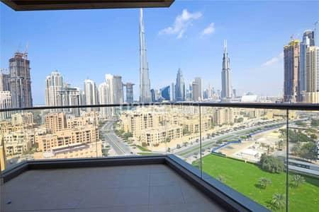 2 Bedroom Apartment for Rent in Downtown Dubai, Dubai - Great Layout | Burj Khalifa View | 2 Bed