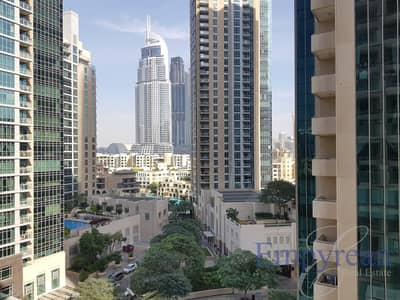 Studio for Rent in Downtown Dubai, Dubai - Fully Furnished Downtown Studio with The Address View